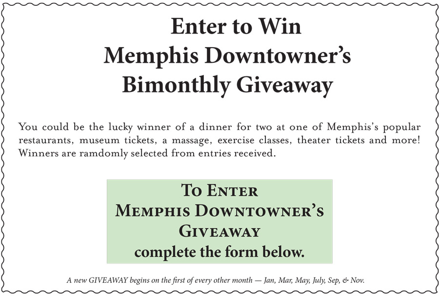 Memphis Downtowner Magazine - Giveaway